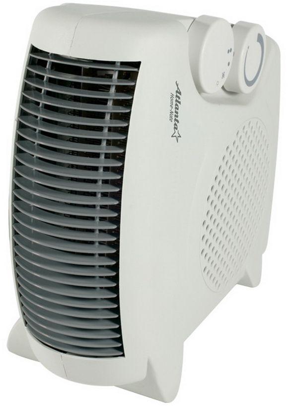 Atlanta ATH-7283 тепловентиляторATH-7283ТепловентиляторATH-7283 служит для быстрого прогрева помещения с наименьшими затратами электроэнергии. Принудительно нагнетая горячий воздух, тепловентилятор заставляет его циркулировать, смешиваясь с холодным, благодаря чему прогрев помещения происходит значительно быстрее, чем в случае обычных обогревателей. Тепловентилятор ATH-7283 может работать в режиме обычного вентилятора, а также нагнетать теплый или горячий воздух. Используя разные режимы работы можно добиться установления в помещении устойчивого и комфортного микроклимата. Материал корпуса - термостойкий пластик абсолютно безвреден и соответствует всем стандартам безопасности. 3 режима работы Режим вентилятора без нагрева, режим теплого потока воздуха и режим горячего потока воздуха.