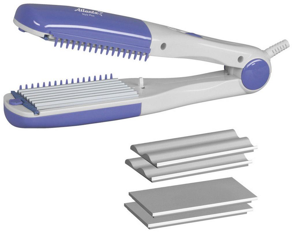 Atlanta ATH-937 электрощипцы для укладки волосATH-937Компактные и многофункциональные щипцы для укладки волосAtlanta ATH-937 с рабочей поверхностью гофре помогут вам создать идеальную укладку у себя дома. Модель имеет керамический нагревательный элемент и обладает мощностью 30 Вт. Щипцы бережно уложат ваши волосы и не пересушат их.
