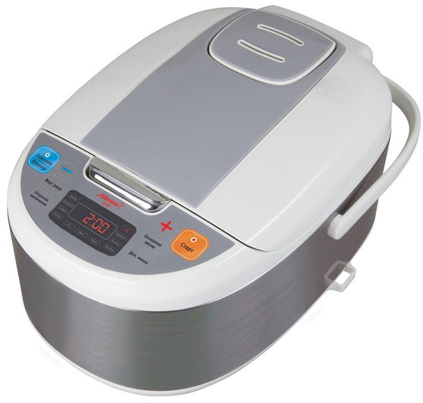 Atlanta ATH-594 мультиваркаATH-594Atlanta ATH-594 облегчит вашу работу по кухне. В модели предусмотрено 10 авторежимов, программы для выпечки, готовки диетических блюд на пару. В мультиварке есть таймер на 24 часа. Благодаря антипригарному покрытию её очень просто и легко очистить.