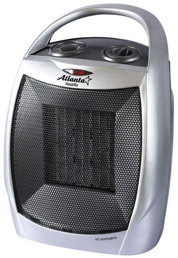 Atlanta ATH-7301 тепловентиляторATH-7301Можно использовать в ванной комнате Долговечный нагревательный элемент Компактный размер Высокий коэффициент теплоотдачи Два режима мощности Режим вентилятора Защита от перегрева Изделие сертифицировано Госстандартом РФ Соответствует американским и европейским нормам безопасности Мощность 1500W 230V, 50Hz. 21 x 17 x 8.5 см