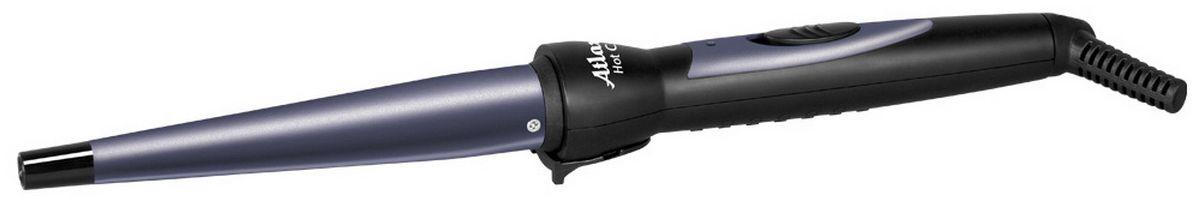 Atlanta ATH-6650, Gray электрощипцы для укладки волосATH-6650С помощью щипцов для укладки волос Atlanta ATH-6650 можно сформировать упругие и красивые локоны как в салоне. Благодаря сбалансированному керамическому нагревательному элементу, прибор набирает рабочую температуру 180°C за 120 секунд и не достигает опасной для волос температуры. Эргономичная форма и ручка с нескользящей поверхностью, обеспечивающей дополнительный комфорт при использовании.