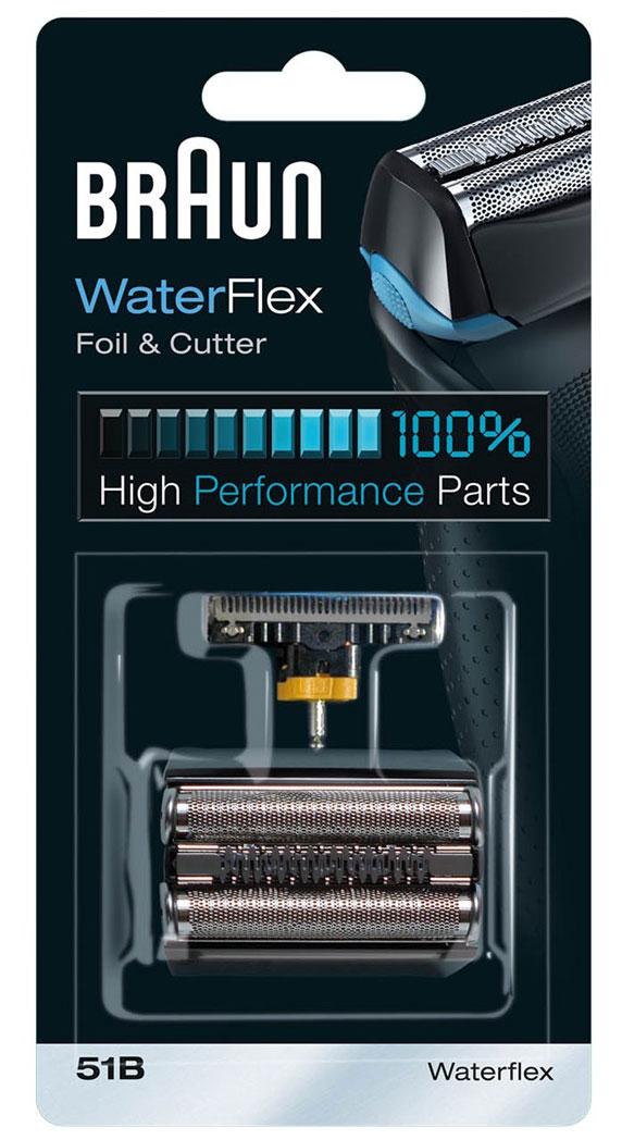 Braun 51В сменный набор кассет Braun Combi для WaterFlex