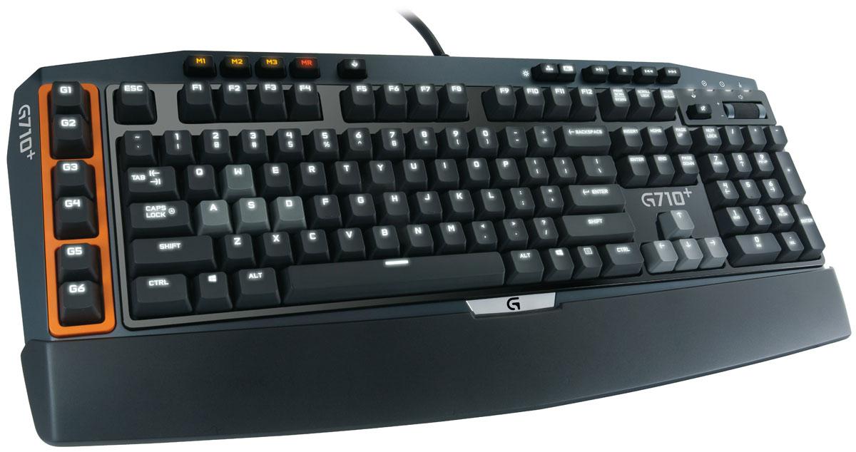 Logitech G710+ игровая клавиатура