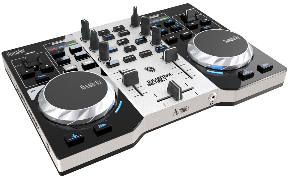 Hercules DJControl Instinct S Series микшерный пульт