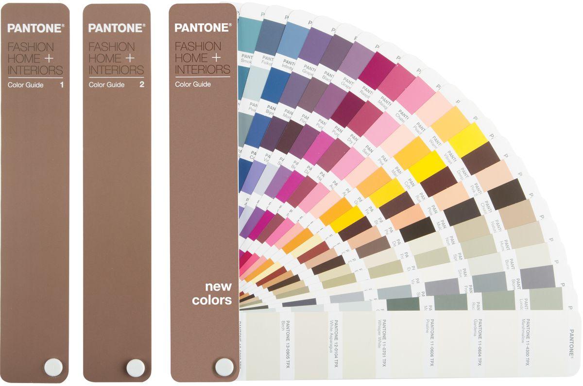 Pantone FHIP110 FHI Color Guide цветовой справочник ( 978-1-590654-21-7 )
