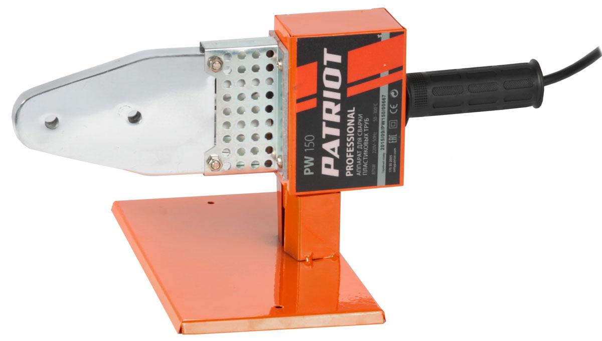 Аппарат для сварки пластиковых труб Patriot PW 150170302005Аппарат для сварки пластиковых труб PATRIOT PW 150 170302005 используется в процессе монтажа трубопровода. Встроенный регулятор позволяет настраивать температуру нагрева в широком диапазоне, благодаря чему гарантируется качественное соединение заготовок независимо от их толщины и диаметра. Габариты аппарата составляют 450х100х270 мм.