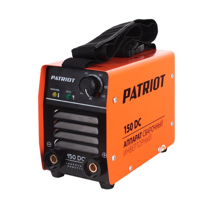 Аппарат сварочный Patriot 150DC MMA605302514Аппараты разработаны для тяжелых эксплуатационных условий. В крепком металлическом корпусе подойдут для работы на стройке, для ремонтных и аварийных работ. Устойчивость к пониженному напряжению делает аппарат пригодным к эксплуатации в отдаленных от города территориях. Специально усиленный входной фильтрующий контур адаптирует аппарат к пониженному напряжению. К работе при неустойчивой сети питания включая электрогенераторные установки. Аппараты просты в управлении, устойчивы к механическим воздействиям, перепадам температур, влажности, пыли, атмосферным осадкам - Гарантированная работа от 140В входного напряжения. - Надежная работа от генератора - Работа при температурном диапазоне -30/+50°C. - Дополнительная защита от дождя и металлической пыли. - Антикоррозийная защита. - Устойчивость к вибрации и падению. - Функции: ARC FORCE, ANTI STICK, HOT START Комплектация: Держатель электрода с кабелем 2.5м, сечение 16 кв. мм, Клемма «земля»...