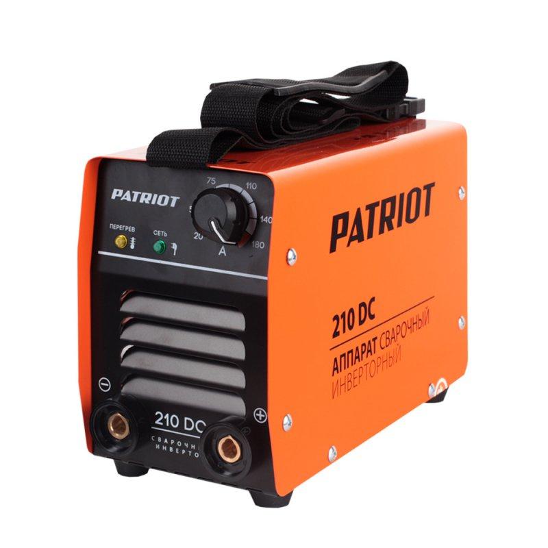 Аппарат сварочный Patriot 210DC MMA
