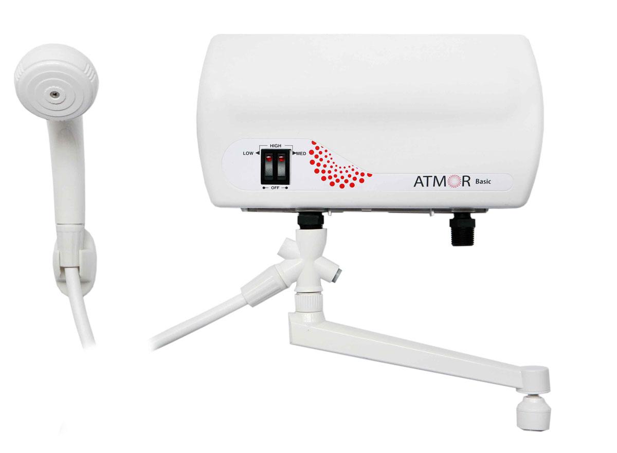 Atmor Basic 5000 Комби водонагреватель проточный ( ATMOR Basic 5000 Универсал (душ + кран) )
