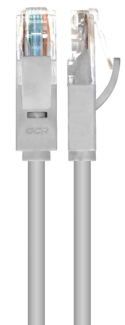 Greenconnect GCR-LNC03, Gray патч-корд 15 мGCR-LNC03-15.0mПатч-корд прямой ethernet 15.0m UTP, 24AWG, Greenconnect Russia кат.5e, 1 Гбит/с, RJ45, T568B, позолоченные контакты, литой (Серый)