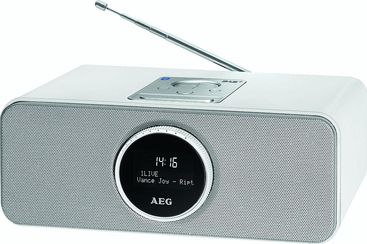 AEG SR 4372 DAB+, White радиоприемник