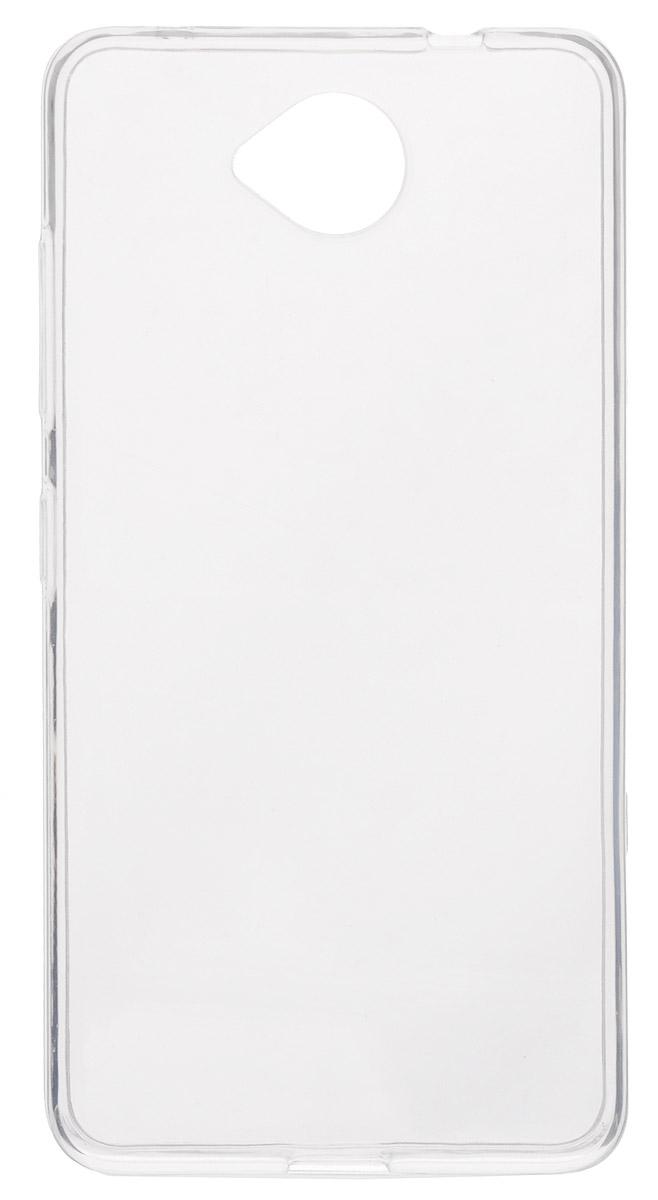Red Line iBox Crystal чехол для Microsoft Lumia 650, ClearУТ000008212Практичный и тонкий силиконовый чехол Red Line iBox Crystal для Microsoft Lumia 650 защищает телефон от царапин, ударов и других повреждений. Чехол изготовлен из высококачественного материала, плотно облегает смартфон и имеет все необходимые технологические отверстия, соответствующие модели телефона. Силиконовый чехол iBox Crystal долгое время сохраняет свою первоначальную форму и не растягивается на смартфоне.