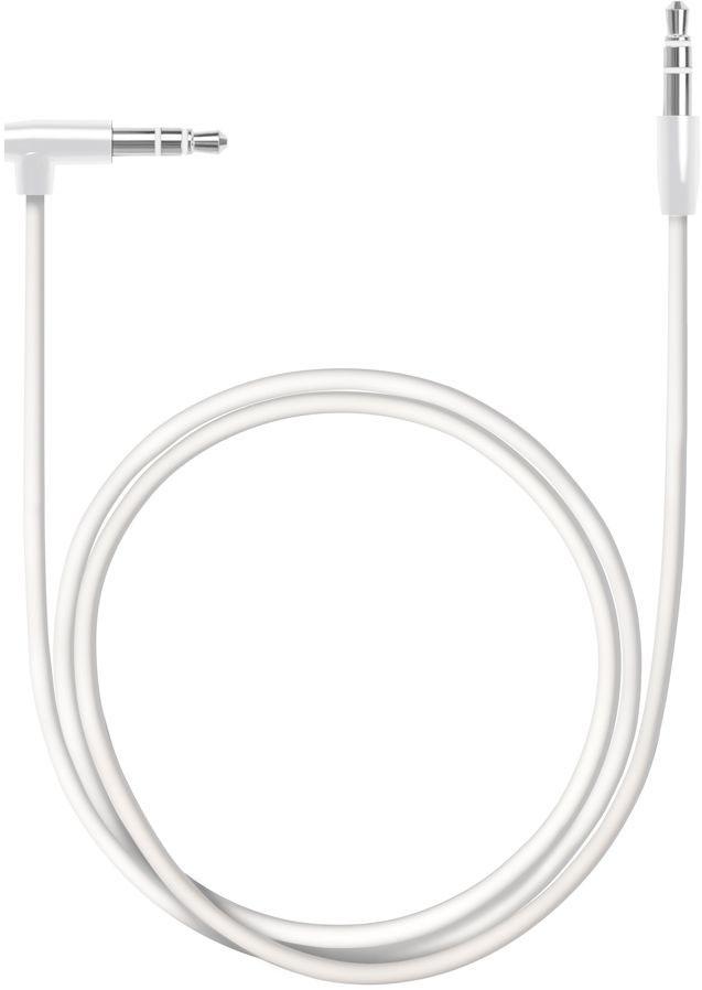Deppa Aux Slim, White аудиокабель (1,2 м)