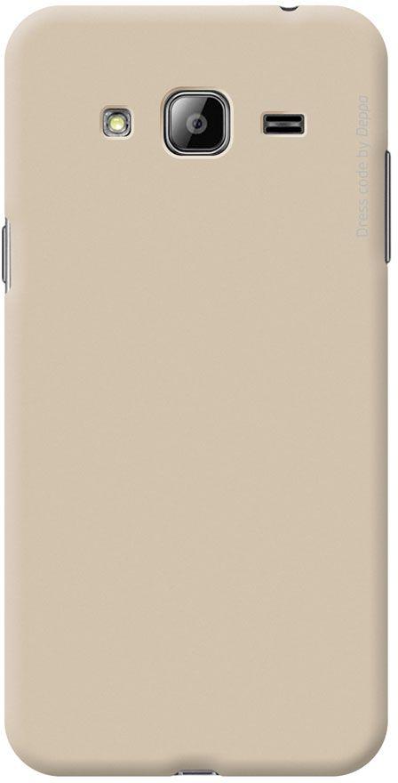 Deppa Air Case чехол для Samsung Galaxy J3 (2016), Gold83249Чехол Deppa Air Case для Samsung Galaxy J3 (2016) случай редкого сочетания яркости и чувства меры. Это стильная и элегантная деталь вашего образа, которая всегда обращает на себя внимание среди множества вещей. Благодаря покрытию soft touch чехол невероятно приятен на ощупь, поэтому смартфон не хочется выпускать из рук. Ультратонкий чехол (1 мм) повторяет контуры самого девайса, при этом готов принимать на себя удары - последствия непрерывного ритма городской жизни. Чехлы Deppa Air Case изготавливаются из высококачественного поликарбоната (PC) производства Вауеr, устойчивого к сколам, ударам и царапинам. Прочная поверхность чехла с покрытием soft touch обладает противоскользящим эффектом. Все функциональные отверстия чехла идеально подогнаны по размерам и местоположению, обеспечивая полный доступ к внешним портам, слотам и разъемам гаджета.