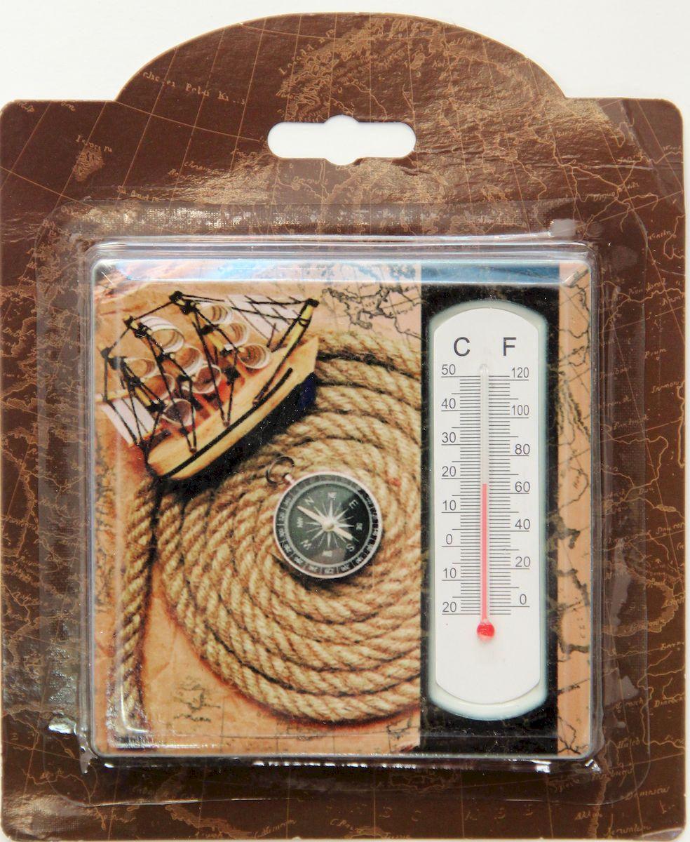 Термометр декоративный Феникс-Презент, комнатный, 10 х 10 см. 4097040970Комнатный термометр Феникс-презент изготовлен из доломитовой керамики и стекла. Термометр имеет шкалу измерения температуры по Цельсию (-20°С - +50°С) и по Фаренгейту (0°F - +120°F). Благодаря такому термометру вы всегда будете точно знать, насколько тепло в помещении. Оригинальный дизайн не оставит равнодушным никого. Термометр удачно впишется в обстановку жилого помещения, гаража или беседки. Кроме того, это актуальный подарок для человека с хорошим вкусом. Высота градусника: 5,5 см.