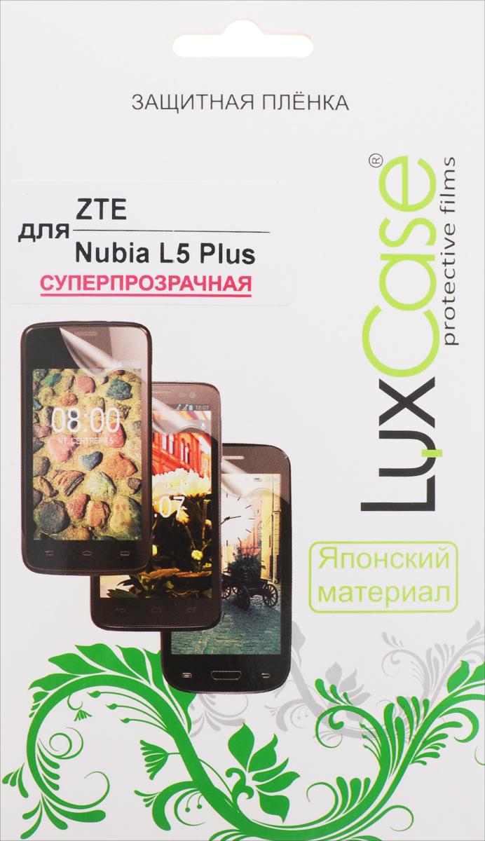 LuxCase защитная пленка для ZTE Blade L5 Plus, суперпрозрачная51459Защитная пленка LuxCase для ZTE Blade L5 Plus сохраняет экран смартфона гладким и предотвращает появление на нем царапин и потертостей. Структура пленки позволяет ей плотно удерживаться без помощи клеевых составов и выравнивать поверхность при небольших механических воздействиях. Пленка практически незаметна на экране смартфона и сохраняет все характеристики цветопередачи и чувствительности сенсора.