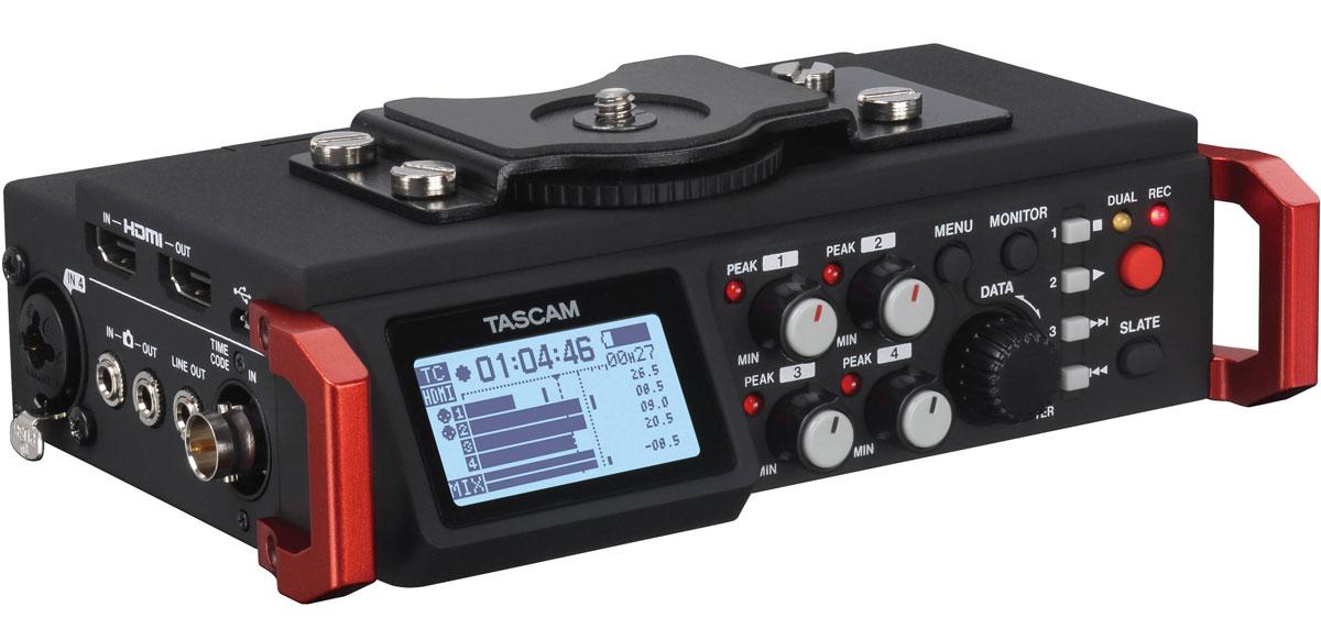 Tascam DR-701D + AK-DR70C Set стерео рекордер для камеры