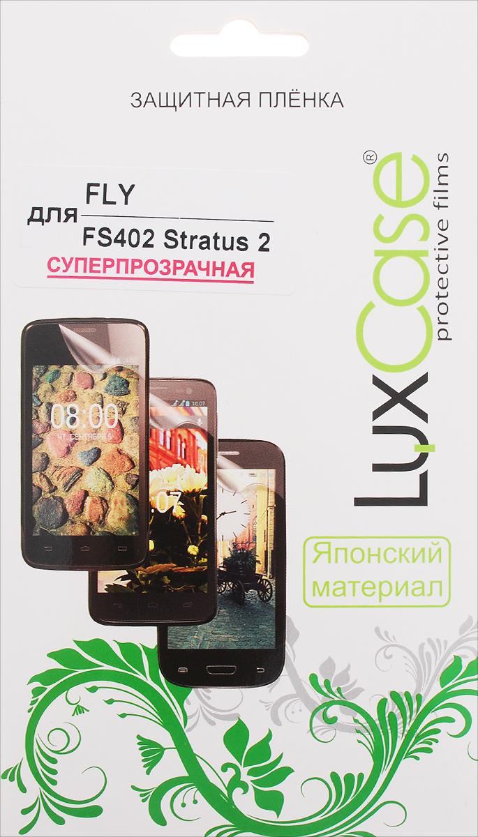 LuxCase защитная пленка для Fly FS402 Stratus 2, суперпрозрачная