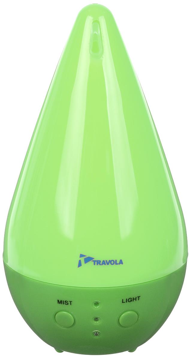 Travola GO-2082, Green ультразвуковой увлажнитель воздухаGO-2082 GreenУвлажнитель воздуха Travola GO-2082 сделает воздух в вашем доме чистым и свежим, а декоративный дизайн станет хорошим украшением вашей комнаты. Вы также можете добавлять ароматические масла для придания воздуху нужного аромата, полезного для всей семьи. Устройство очень просто в использовании, обладает высокой надежностью и качеством.