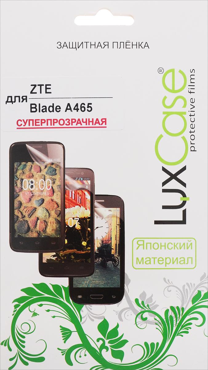 LuxCase защитная пленка для ZTE Blade A465, суперпрозрачная