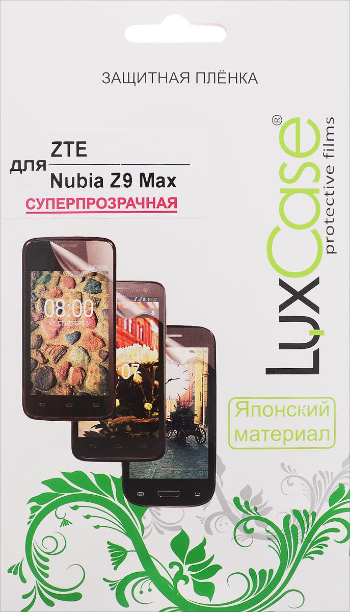 LuxCase защитная пленка для ZTE Nubia Z9 Max, суперпрозрачная51467Защитная пленка LuxCase для ZTE Nubia Z9 Max сохраняет экран смартфона гладким и предотвращает появление на нем царапин и потертостей. Структура пленки позволяет ей плотно удерживаться без помощи клеевых составов и выравнивать поверхность при небольших механических воздействиях. Пленка практически незаметна на экране смартфона и сохраняет все характеристики цветопередачи и чувствительности сенсора.