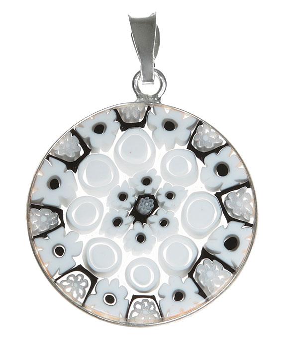 Кулон Миллефиори. Муранское стекло, белый металл, ручная работа. Murano, Италия (Венеция)f683u9b9Кулон Миллефиори. Муранское стекло, белый металл, ручная работа. Murano, Италия (Венеция). Диаметр - 2,5 см. Оригинальная упаковка. Каждое изделие из муранского стекла уникально и может незначительно отличаться от того, что вы видите на фотографии.