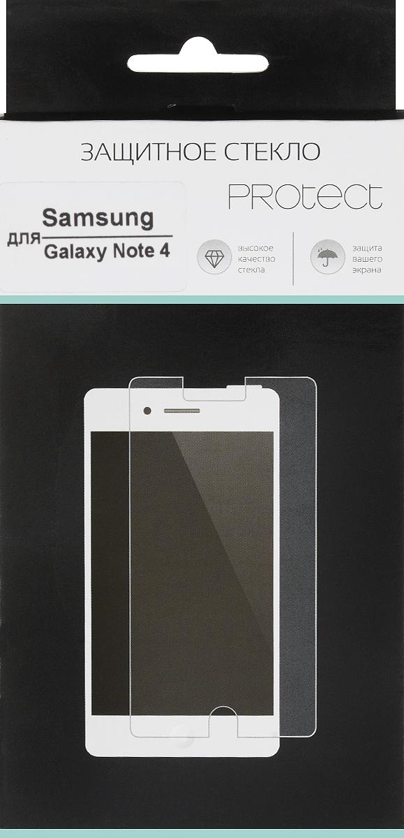 LuxCase Protect защитное стекло для Samsung Galaxy Note 4 SM-N910, суперпрозрачное40020Защитное стекло LuxCase Protect для Samsung Galaxy Note 4 SM-N910 обеспечивает надежную защиту сенсорного экрана устройства от большинства механических повреждений и сохраняет первоначальный вид дисплея, его цветопередачу и управляемость. В случае падения стекло амортизирует удар, позволяя сохранить экран целым и избежать дорогостоящего ремонта. Стекло обладает особой структурой, которая держится на экране без клея и сохраняет его чистым после удаления.