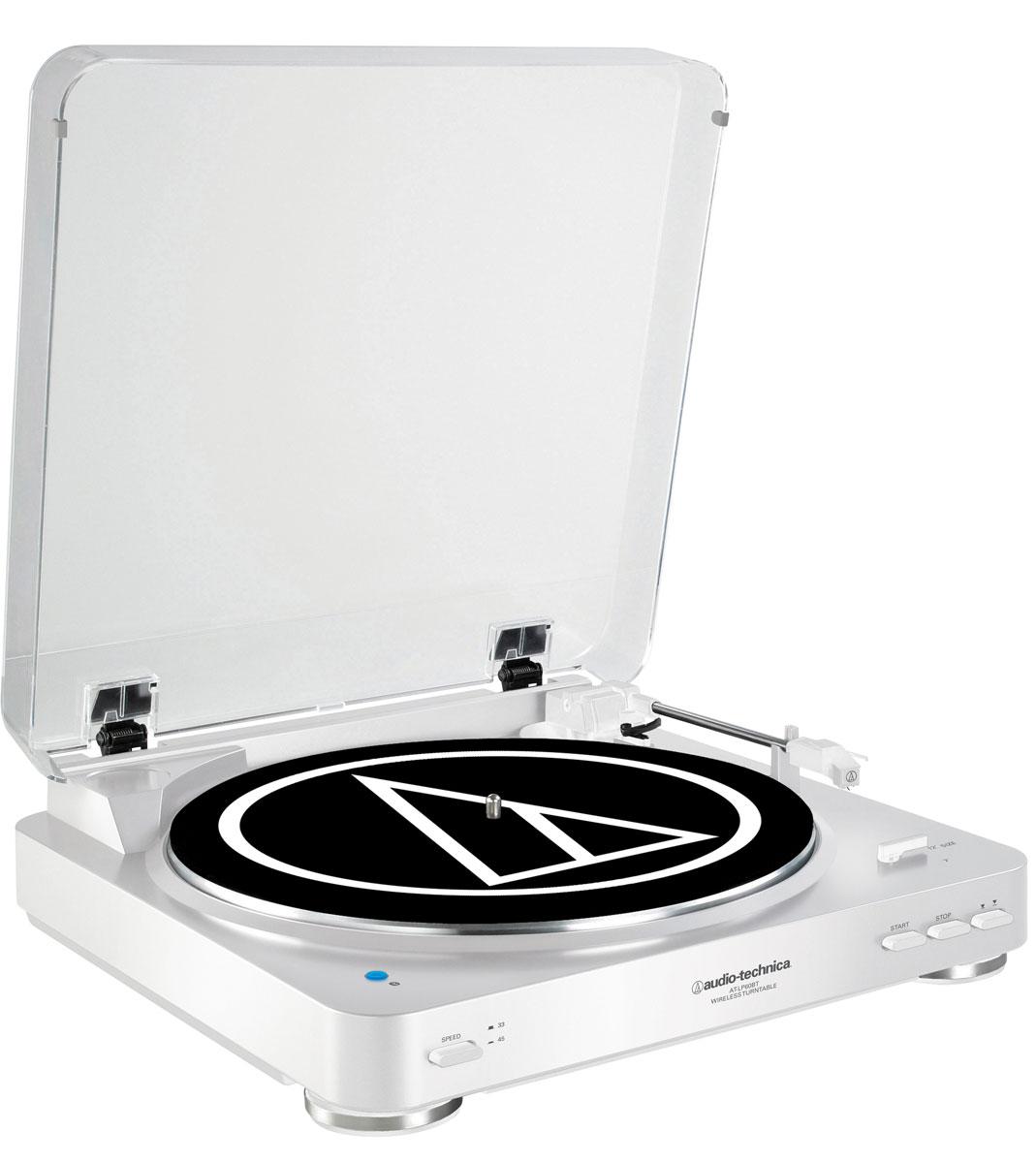 Audio-Technica AT-LP60BT, White проигрыватель виниловых дисков15118424Audio-Technica AT-LP60BT - это полностью автоматический проигрыватель виниловых пластинок с поддержкой Bluetooth, привносящий легендарное звучание Audio-Technica в мир беспроводных соединений. Данная модель обеспечит выдающийся звук с легкость в автоматическом режиме: просто нажмите кнопку Пуск, чтобы начать воспроизведение записи, и кнопку Стоп, чтобы поднять и вернуть тонарм и выключить поворотный стол. Кнопка подъема тонарм также включена, чтобы позволить вам поднимать и опускать тонарм без остановки проигрывателя. Беспроводное подключение к устройствам, поддерживающим протокол Bluetooth (колонки, наушники, ресиверы) Проводное подключение к аудиосистемам и колонкам через двойной RCA-кабель Встроенный предусилитель с функцией отключения Антирезонансный литой опорный диск из алюминия Встроенный звукосниматель AT3600L с двумя подвижными магнитами, оснащённый съёмной алмазной иглой Тип звукоснимателя: VM Мотор DC с...