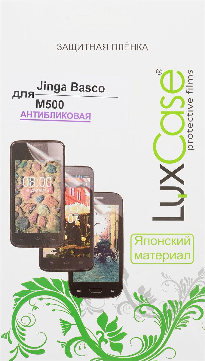 LuxCase защитная пленка для Jinga Basco M500, антибликовая