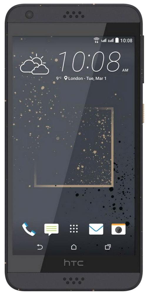 HTC Desire 630 DS, Golden GraphiteHTC-99HAJM007-00Представляем HTC Desire 630 dual sim. Смартфон, который заметят окружающие: эффектные цветовые решения корпуса, внушительные аудио характеристики и отличные фронтальная и основная камеры. Корпус устройства, выполненный из материала soft-touch, ребристая кнопка включения, крепление для ремешка на руку делают изделие исключительно удобным в использовании. Наличие двух SIM-карт позволит разделить рабочие и личные звонки. Выпускные балы, решающие голы, яркие эмоции на аттракционах - нередко бывает тяжело поймать тот самый незабываемый кадр. С HTC Desire 630 dual sim снимать легко и просто: все технические задачи решены, и тебе остается просто нажать кнопку спуска. Основная камера 13Мпикс поможет снимать отличные фото и видео. При необходимости фото можно отредактировать во встроенном Фоторедакторе, а также при желании добавить фотоэффекты - например, применить Двойную экспозицию. С HTC Desire 630 dual sim ты не упустишь ни один удачный кадр. Если...