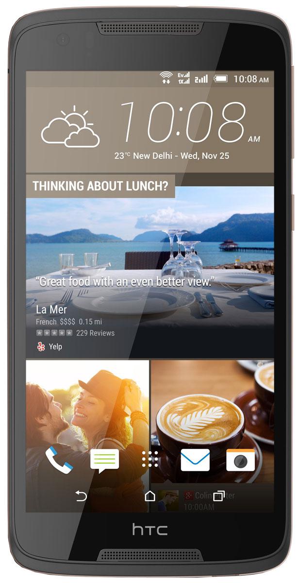 HTC Desire 828, Dark GrayHTC-99HAFV034-00Четкость без смазанностей, эффективные инструменты редактирования - HTC Desire 828 предлагает функционал, характерный, как правило, для флагманских устройств. Знакомьтесь, надежный помощник любителей мобильной фотографии. Передовая система оптической стабилизации изображения (OIS) оснащена линзами, способными компенсировать возможное дрожание устройства во время съемки. Камера отслеживает смещение с интервалом всего в 0,125 миллисекунды и сдвигает линзы, рефокусируясь в режиме реального времени, что дает возможность минимизировать смазанность фотографий. Премиальная система оптической стабилизации на HTC Desire 828 обеспечивает профессиональное качество фотографий: с меньшим количеством шумов и большей детализацией даже в условиях недостаточной освещенности. Лучшие селфи - вот что вас ждет! 4 миллиона чувствительных элементов фронтальной камеры HTC UltraPixel захватывают больше света, чем стандартные пиксели, а соответственно,...