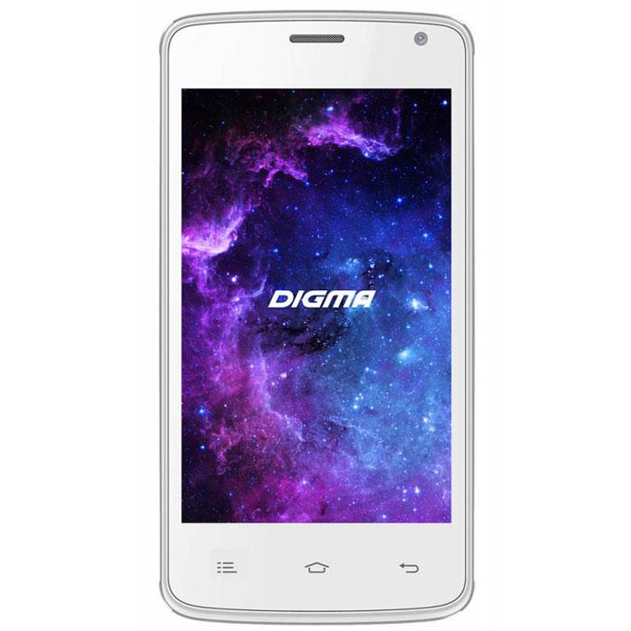 Digma Linx A400 3G, WhiteLT4001PGСмартфон Digma Linx A400 3G - компактная модель с четырехдюймовым сенсорным экраном и небольшими размерами, которые дают возможность управления функциями устройства одной рукой и помогают потреблять совсем небольшое количество энергии. Заряда батареи смартфона хватает примерно для 9 часов разговора или 15 дней работы в режиме ожидания. Встроенный высокосортной передатчик Wi-Fi позволяет вам быстро установить соединение с точкой доступа. Две SIM-карты дают возможность сочетать наиболее выгодные тарифные планы для голосового общения или мобильного интернета. Современный четырехъядерный процессор легко справляется с работой в режиме многозадачности. Смартфон Digma Linx A400 3G оснащен двумя камерами: основная 2-мегапиксельная со светодиодной вспышкой поможет вам получить четкие снимки даже при слабом освещении. Фронтальная камера позволит делать звонки по видеосвязи. Функция GPS без труда определит местоположение пользователя, поможет построить маршрут...