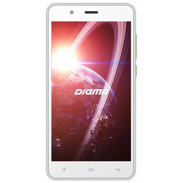 Digma Linx C500 3G, WhiteLT5001PGСмартфон Digma Linx C500 3G - компактная модель с пятидюймовым сенсорным экраном и небольшими размерами, которые дают возможность управления функциями устройства одной рукой и помогают потреблять совсем небольшое количество энергии. Заряда батареи смартфона хватает примерно для 9 часов разговора или 15 дней работы в режиме ожидания. Встроенный высокосортной передатчик Wi-Fi позволяет вам быстро установить соединение с точкой доступа. Две SIM-карты дают возможность сочетать наиболее выгодные тарифные планы для голосового общения или мобильного интернета. Современный четырехъядерный процессор легко справляется с работой в режиме многозадачности. Смартфон Digma Linx C500 3G оснащен двумя камерами: основная 2-мегапиксельная со светодиодной вспышкой поможет вам получить четкие снимки даже при слабом освещении. Фронтальная камера с разрешением 0,3 мегапикселя позволит делать звонки по видеосвязи. Функция GPS без труда определит местоположение...
