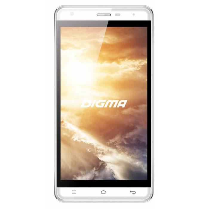 Digma Vox S501 3G, WhiteVS5002PGСмартфон Digma Vox S501 3G - компактная модель с 5-дюймовым сенсорным экраном и небольшими размерами, которые дают возможность управления функциями устройства одной рукой и помогают потреблять совсем небольшое количество энергии. Заряда батареи смартфона хватает примерно для 9 часов разговора или 15 дней работы в режиме ожидания. Встроенный высокосортной передатчик Wi-Fi позволяет вам быстро установить соединение с точкой доступа. Две SIM-карты дают возможность сочетать наиболее выгодные тарифные планы для голосового общения или мобильного интернета. Современный четырехъядерный процессор легко справляется с работой в режиме многозадачности. Смартфон Digma Vox S501 3G оснащен двумя камерами: основная 8-мегапиксельная со светодиодной вспышкой поможет вам получить четкие снимки даже при слабом освещении. Фронтальная камера с разрешением 2 мегапикселя позволит делать звонки по видеосвязи. Функция GPS без труда определит местоположение пользователя,...