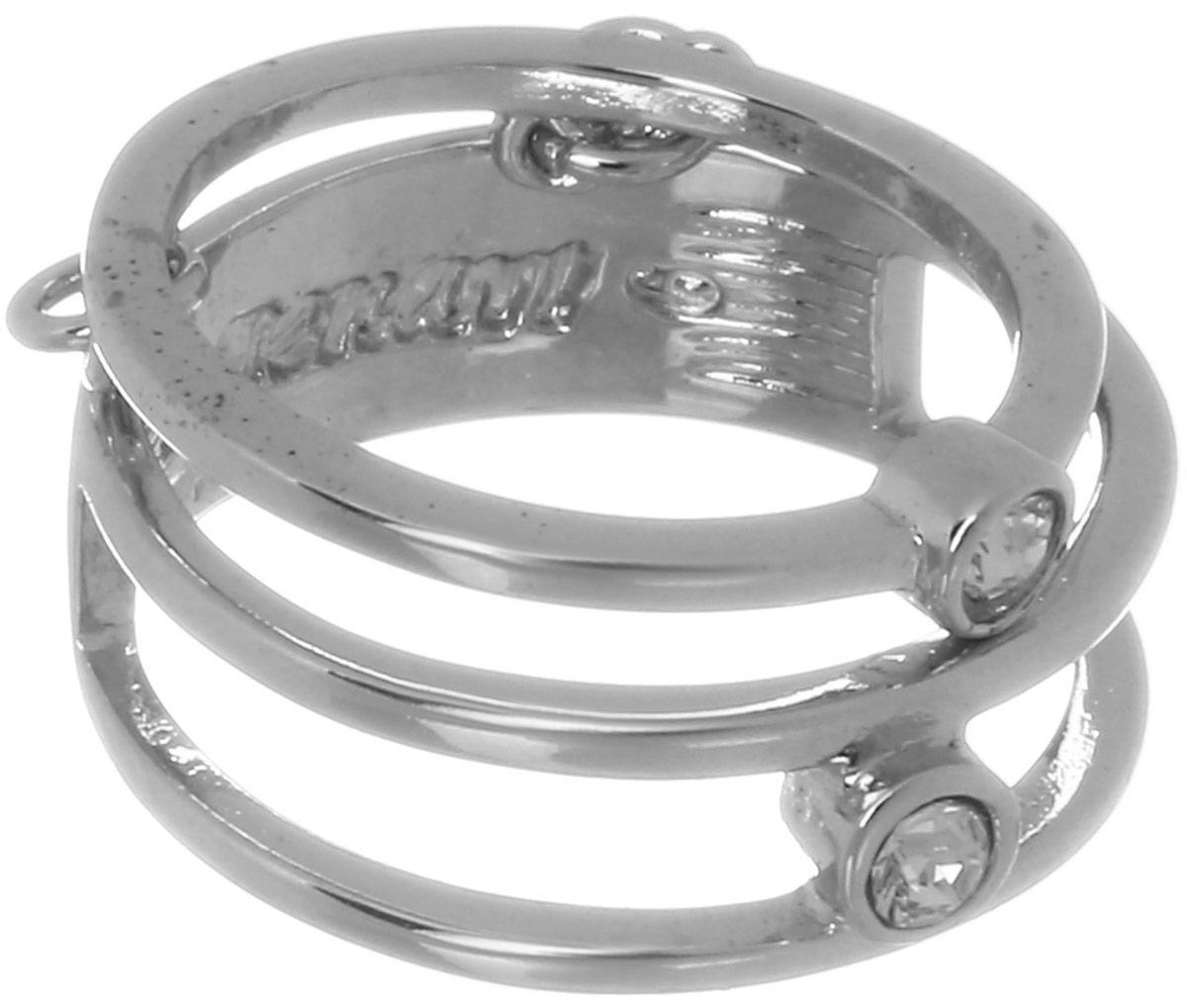 Jenavi, Коллекция Триада, Ваю (Кольцо), цвет - серебряный, белый, размер - 19f698f000Коллекция Триада, Ваю (Кольцо) гипоаллергенный ювелирный сплав,Серебрение c род. , вставка Кристаллы Swarovski , цвет - серебряный, белый, размер - 19