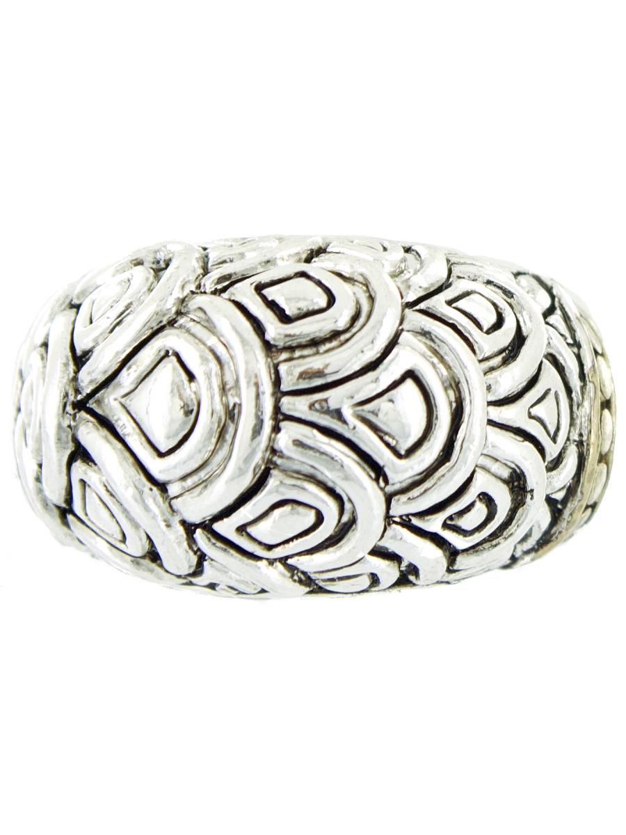 Кольцо женское Taya, цвет: серебро. T-B-6375-RING-TWO.TONET-B-6375-RING-TWO.TONEКольца бренда Taya украсят любое вечернее платье, дополнят деловой образ и создадут настроение на вечеринке. Размеры: верхушка: ширина 1,5 см, толщина 1 см