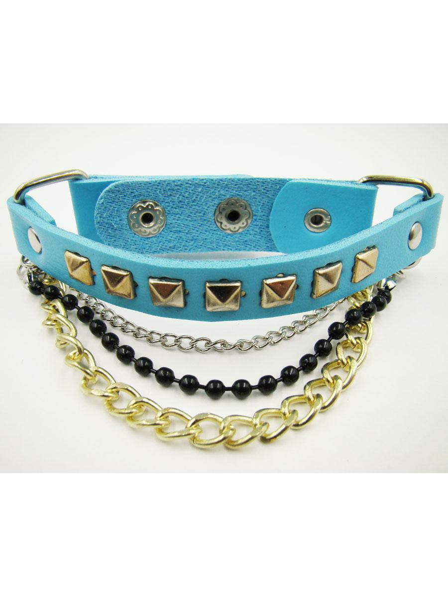 Браслет женский Taya, цвет: синий. T-B-9903-BRAC-BLUET-B-9903-BRAC-BLUEМодный браслет дополнит повседневный и праздничный образ, подчеркнув достоинства женской ручки. Размеры: 22,5*1,7 см, центр 11,5*1,2 см
