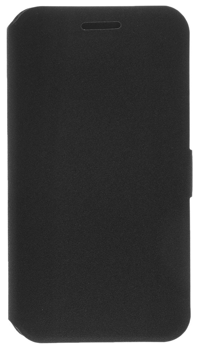 Prime Book чехол-книжка для LG K5, Black2000000092737Чехол-книжка Prime Book для LG K5 надежно защитит ваш смартфон от внешних воздействий, грязи, пыли, брызг. Он также поможет при ударах и падениях, не позволив образоваться на корпусе царапинам и потертостям. Чехол обеспечивает свободный доступ ко всем функциональным кнопкам смартфона и камере.