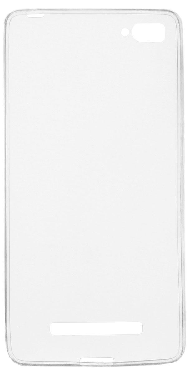 Skinbox Slim Silicone чехол-накладка для Xiaomi Mi4i/4c, Clear
