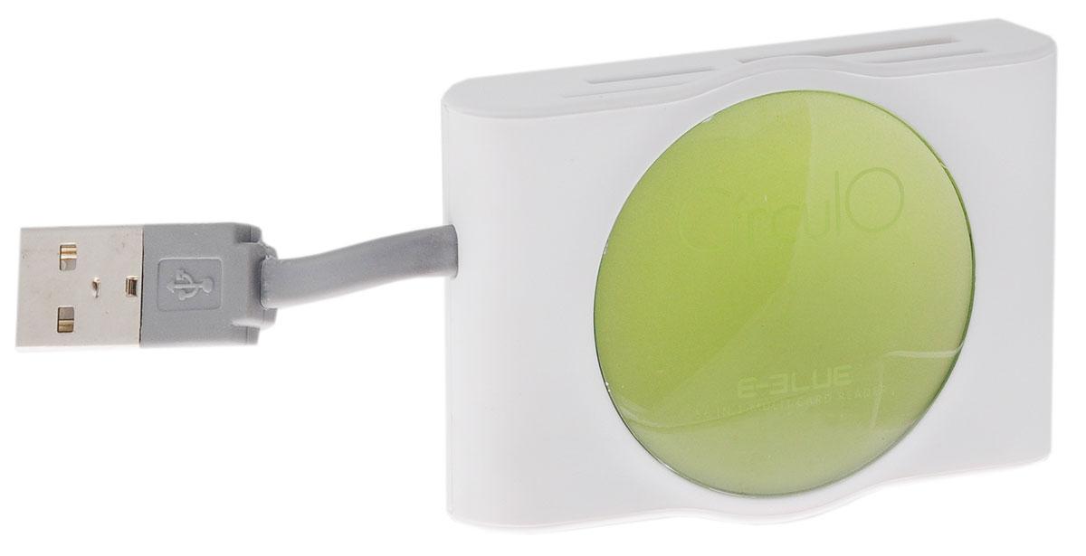 E-Blue ERD053 Circulo, White картридер