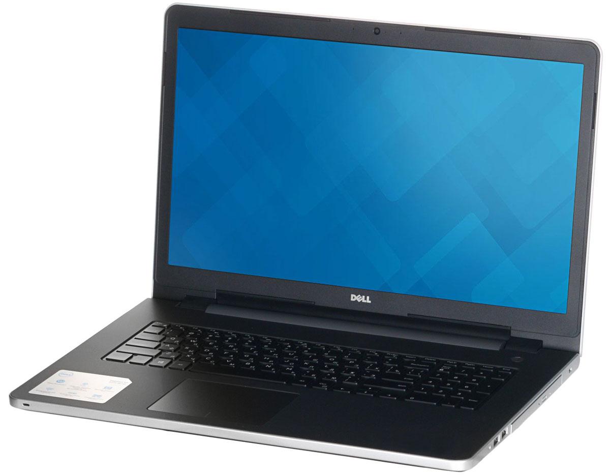 Dell Inspiron 5758 (8962), Silver5758-8962Новый уровень развлечений и производительности благодаря 17,3-дюймовому ноутбуку Dell Inspiron 5758 со стильным, привлекательным дизайном, который объединяет в себе мощность настольного компьютера и яркий экран с разрешением HD+. Ноутбук работает под управлением операционной системы Windows 10 Home. Замените настольный компьютер на стильный ноутбук, обладающий функциями для повышения производительности, которые обеспечивают кинематографическое качество воспроизведения мультимедийных материалов. Ноутбук Dell Inspiron 5758 в корпусе из полированного алюминия оснащен процессором Intel, встроенным дисководом, полноразмерным портом HDMI, USB 3.0 и устройством считывания карт памяти SD. Новый дизайн тоньше и легче, чем у предыдущих версий, поэтому компьютер проще переносить из комнаты в комнату. Жесткий диск позволяет хранить ваши файлы под рукой благодаря емкости системы хранения до 500 ГБ. Оцените яркие изображения на 17-дюймовом дисплее нового...