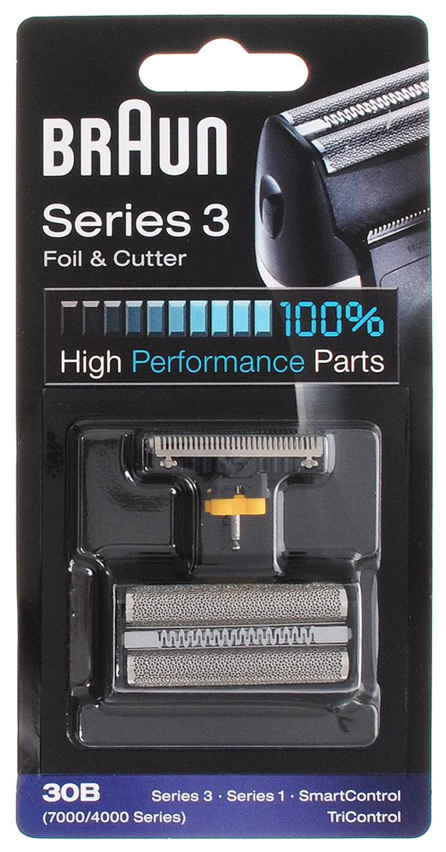 Braun 30B сетка + блок Series330BБреющая сетка и режущий блок для бритв Braun Series 3, Series 1, SmartControl, TriControl.