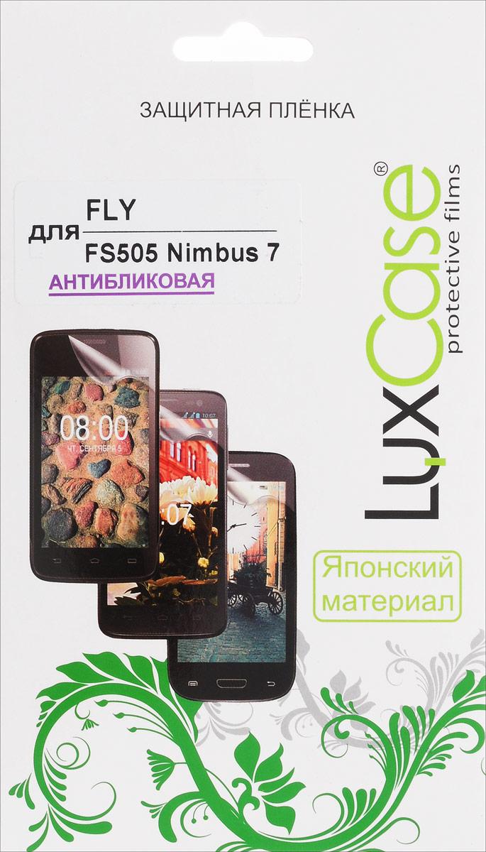 LuxCase защитная пленка для Fly FS505 Nimbus 7, антибликовая