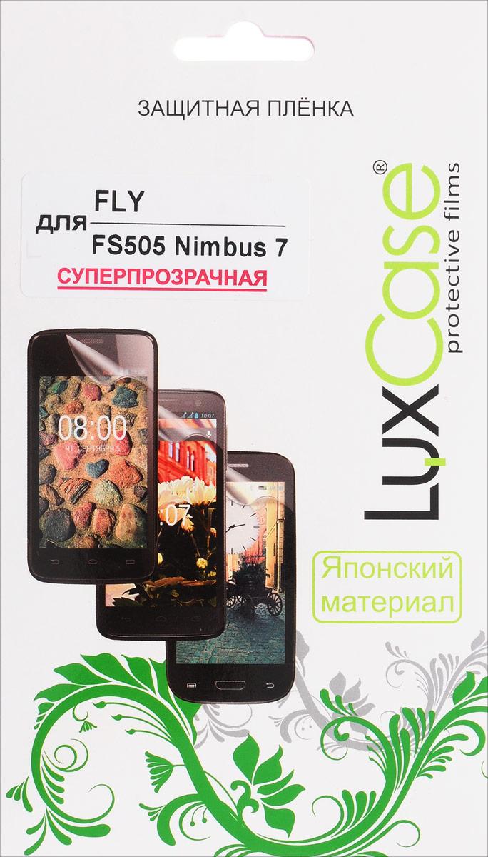 LuxCase защитная пленка для Fly FS505 Nimbus 7, суперпрозрачная50573Защитная пленка LuxCase для Fly FS505 Nimbus 7 сохраняет экран смартфона гладким и предотвращает появление на нем царапин и потертостей. Структура пленки позволяет ей плотно удерживаться без помощи клеевых составов и выравнивать поверхность при небольших механических воздействиях. Пленка практически незаметна на экране смартфона и сохраняет все характеристики цветопередачи и чувствительности сенсора.
