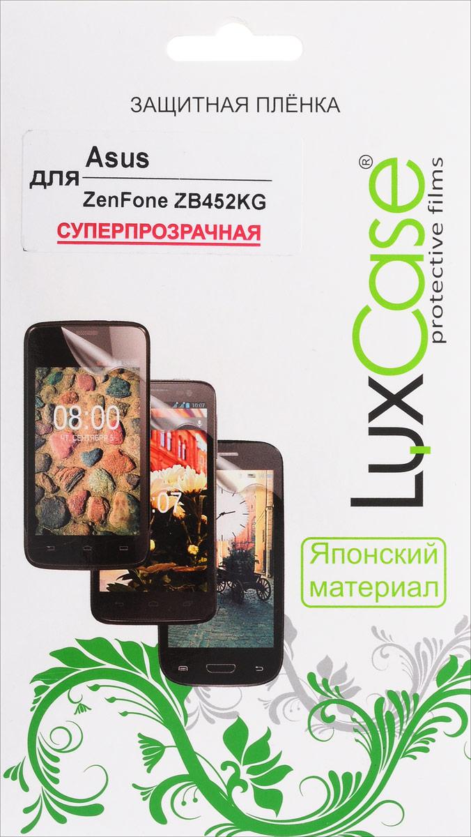 LuxCase защитная пленка для Asus ZenFone ZB452KG, суперпрозрачная ainy ze500cl защитная пленка для asus zenfone 2 матовая