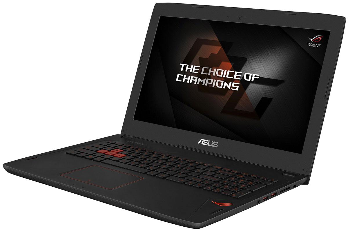 ASUS ROG GL502VT (GL502VT-FY145T)GL502VT-FY145TНоутбук Asus ROG GL502VT - это новейший процессор Intel и геймерская видеокарта NVIDIA GeForce GTX в компактном и легком корпусе. С этим мобильным компьютером вы сможете играть в любимые игры где угодно. В аппаратную конфигурацию ноутбука входит процессор Intel Core i7 шестого поколения и дискретная видеокарта NVIDIA GeForce GTX 970M с поддержкой Microsoft DirectX 12. Мощные компоненты обеспечивают высокую скорость в современных играх и тяжелых приложениях, например при редактировании видео. Данная модель оснащается 15-дюймовым IPS-дисплеем с широкими (178°) углами обзора, разрешение которого составляет 3840x2160 (формат Ultra-HD) или 1920x1080 (Full-HD) пикселей. В новых ноутбуках серии ROG GL502 реализована высокоэффективная система охлаждения с тепловыми трубками и двумя вентиляторами, независимо друг от друга обслуживающими центральный и графический процессоры. Продуманное охлаждение - залог стабильной работы мобильного компьютера даже...
