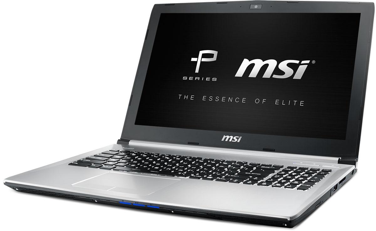 MSI PE60 6QE-084XRU, Silver