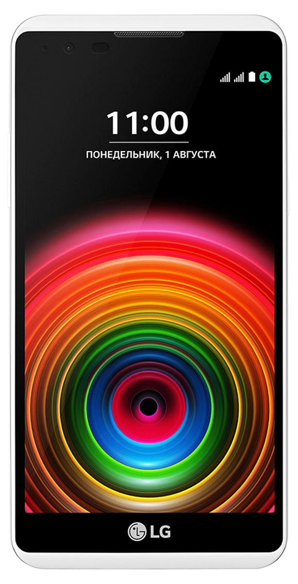 LG X Power K220DS, WhiteLGK220DS.ACISWKМощный аккумулятор Пользуйтесь LG X Power K220DS как можно дольше и не беспокойтесь о подзарядке смартфона в течение дня благодаря увеличенной мощности аккумулятора 4100 мАч! Быстрая зарядка Быстрая зарядка LG X Power K220DS позволяет вам дольше пользоваться смартфоном и меньше держать его подключенным к сети, она позволяет заряжать смартфон почти в два раза быстрее обычного зарядного устройства. Поддержка USB OTG Подключайте LG X Power K220DS напрямую к другим устройствам, используя удобный кабель USB On-The-Go. Вы также сможете подзарядить их с помощью этого кабеля. Яркие фотографии, сочные цвета Позвольте себе больше: на широком и ярком 5,3-дюймовом HD-дисплее ваши снимки, игры, приложения и видео заиграют новыми красками. Все для лучших фотографий Благодаря новому режиму Автосъемка делать селфи стало еще проще. Камера автоматически распознает ваше лицо и через несколько секунд сделает снимок. LG X...