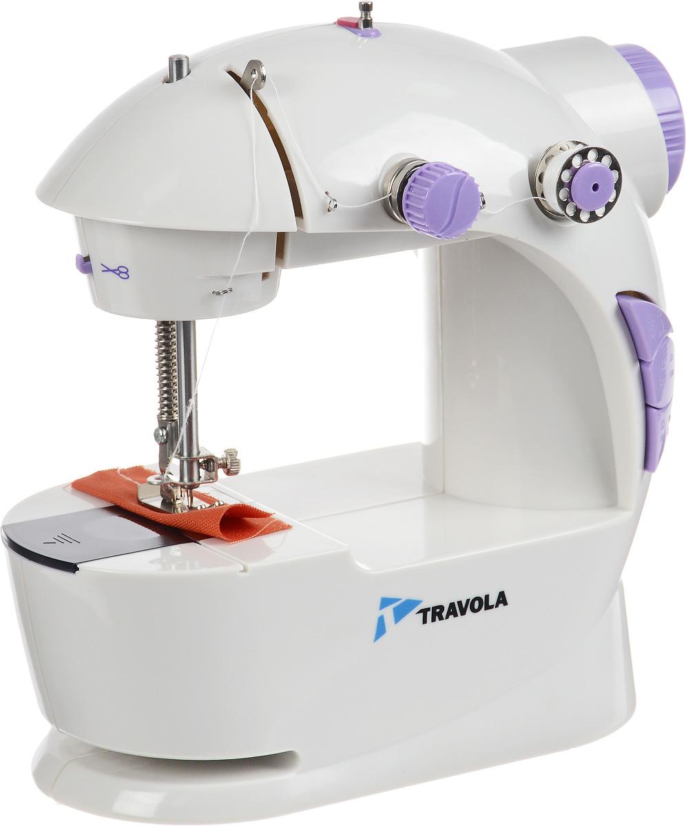 Travola 201 швейная машина201Машина Travola 201идеально подходит для выполнения основных швейных операций при изготовлении и ремонте одежды. Эта надежная машина имеет традиционный набор функций, который необходим для шитья. Теперь вы легко и просто сможете шить все, что вам необходимо, прямо на дому. Вам нужно заштопать вещь? Вы мечтаете сшить что-то оригинальное для себя или в подарок друзьям? С легкой и простой в и с пользовании машинкой Ttavola вы сможете сделать это! Теперь вам под силу подшить одежду, шторы, постельное белье — практически все вещи из ткани в вашем доме. Не выбрасывайте порванные вещи - вы можете легко починить их! Экономьте свои деньги и получайте от этого удовольствие. Вы испытаете такую гордость, когда сможете сказать: Я сделал это сам!
