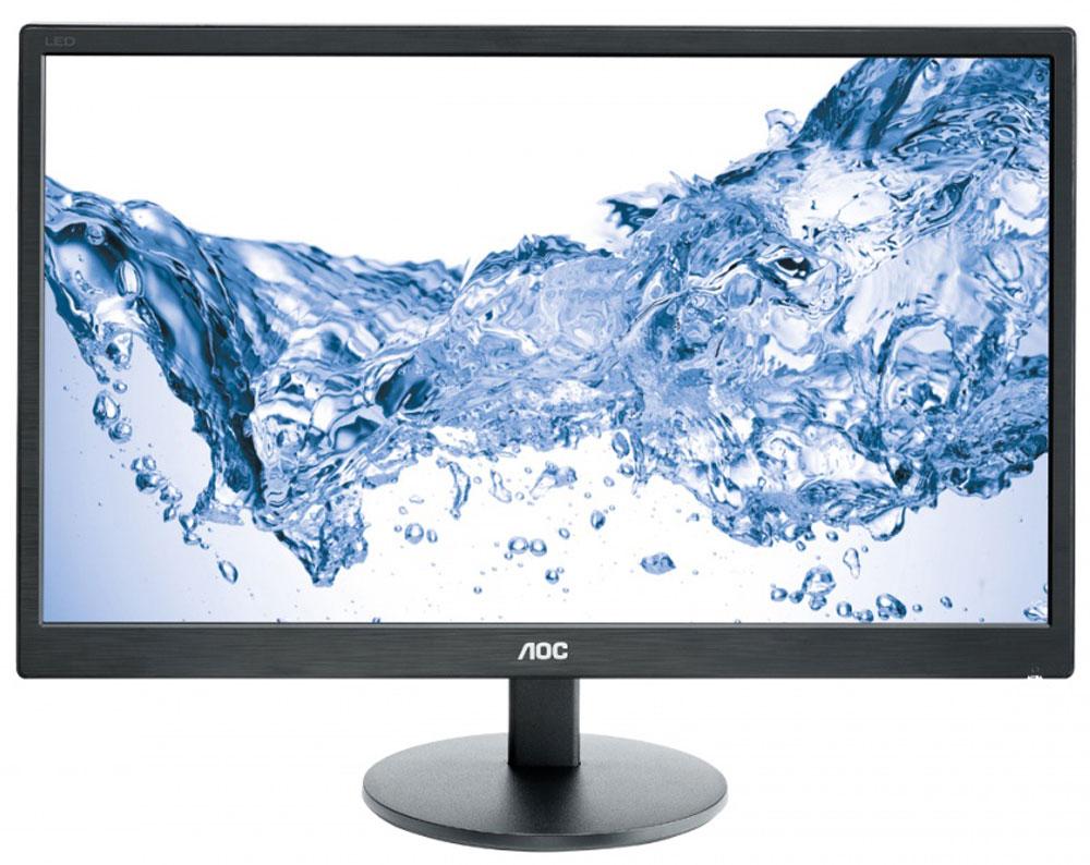 AOC E2470SWH, Black мониторE2470SwhAOC E2470SWH с вечно модным классическим черным дизайном оснащен высококачественной 59,9 см (23,6- дюймовой) ЖК-матрицей Full HD. Благодаря высокой контрастности в 1000:1 в сочетании с яркостью в 250 кд/м2 и времени отклика в 1 мс обладает превосходным качеством изображения и отлично подходит как для работы в офисе, так и для развлечения. Несмотря на свой большой экран, этот 23,6-дюймовый монитор потребляет всего лишь 18,5 Вт в обычном режиме. Более того, АОС оснащает все свои мониторы интеллектуальным программным обеспечением и шаблонами, которые помогают дополнительно сэкономить энергию и улучшить качество работы. Мультимедийный интерфейс высокой четкости или HDMI – это всемирный стандарт цифровой передачи видео высокого разрешения и многоканального звука. Это универсальное однокабельное решение позволяет легко подключать дисплей к таким устройствам, как компьютеры, ноутбуки, игровые консоли и медиаплееры. Времени отклика равное 1 мс...